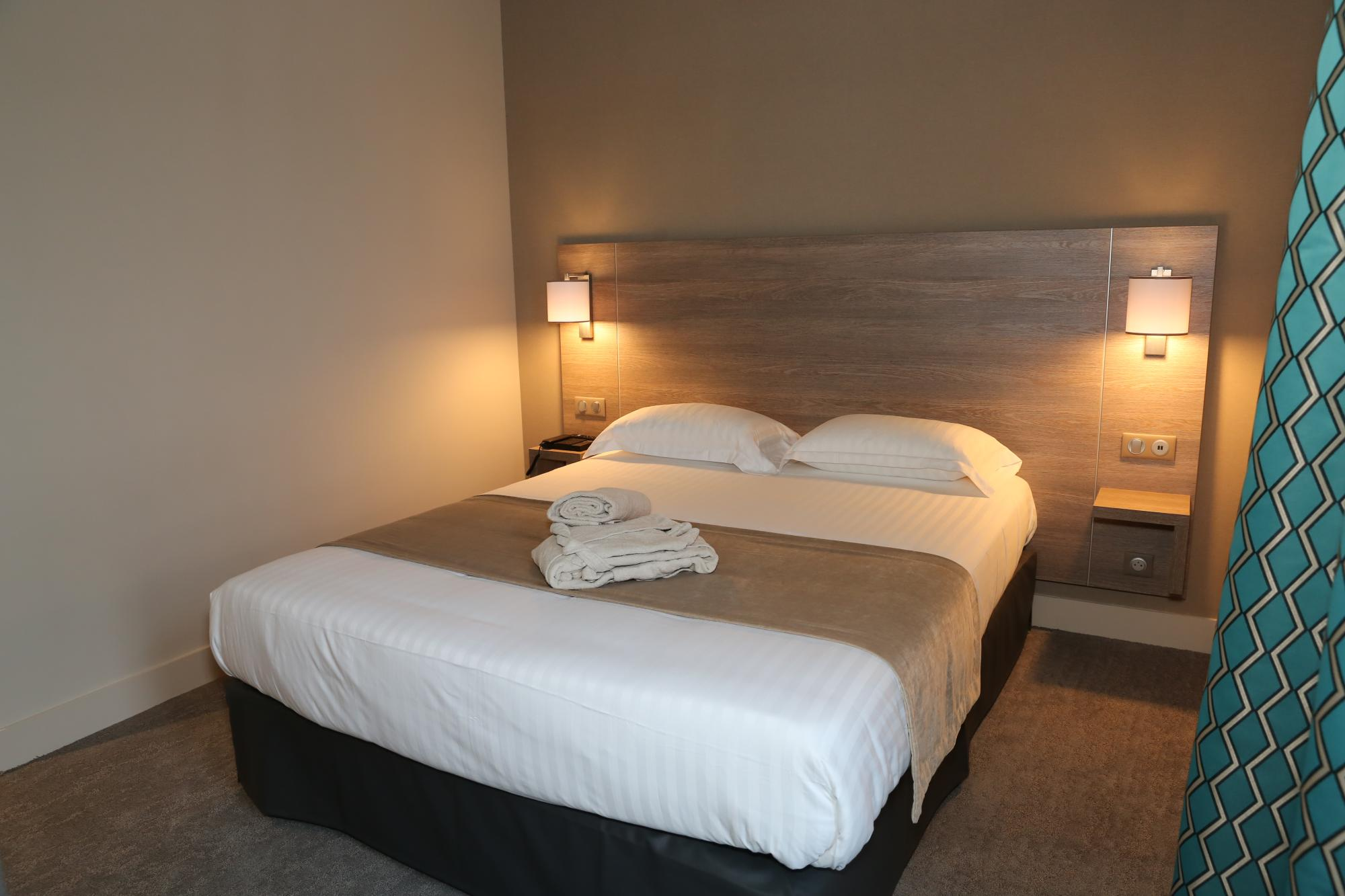 Eden Spa | Chambre confort | Bed
